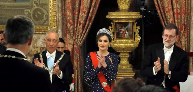 La Reina Letizia en el evento en el que casi pasó una gran vergüenza