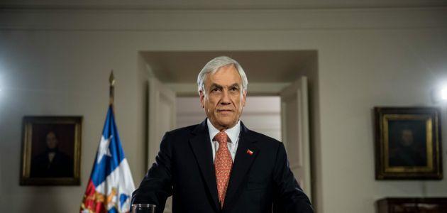 Piñera anunció reforma tributaria en Cadena Nacional