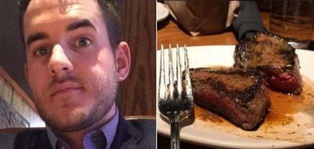 Hombre fingió haber sido plantado en San Valentín para que le regalaran la cena en un restaurante