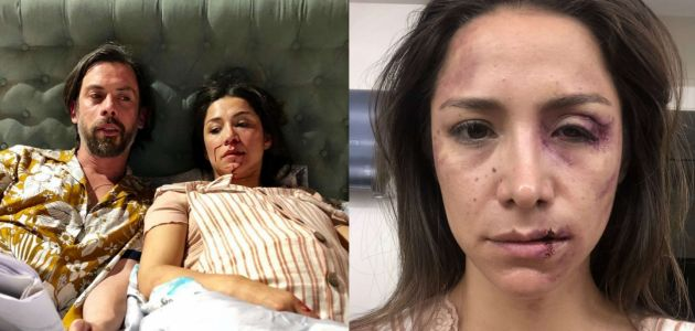 """[FOTOS] El potente mensaje de Loreto Aravena tras brutal escena de violencia en """"Pacto de Sangre"""""""