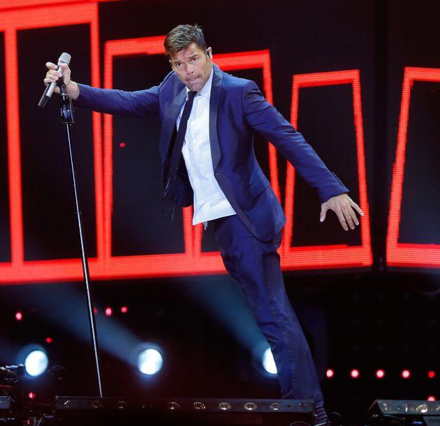 Ricky Martin ofreció un show anoche en Santiago. Mañana hay otr