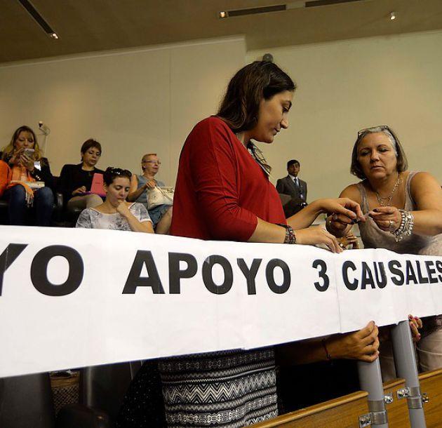 Guillier, Sánchez y Goic celebran luz verde del TC a proyecto de aborto tres causales