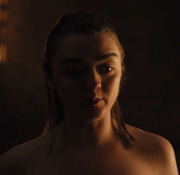 Game of thrones: edad de Arya y Maisie Williams en Google