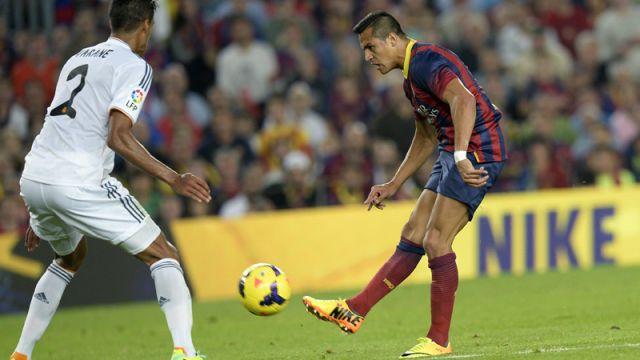 VIDEO  Barça elige gol de Sánchez como el mejor ante Real Madrid ... 4f514b15b91f6