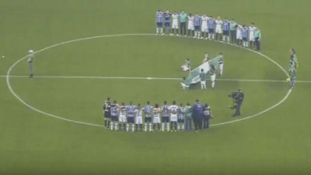 VIDEO  Gremio gana la Copa de Brasil recordando a Chapecoense  035ee94e2c06e