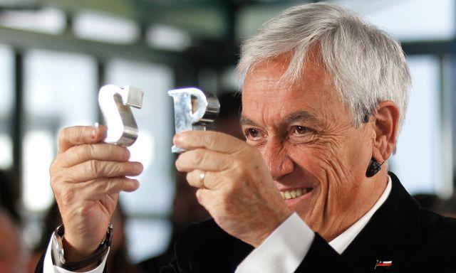 Piñera presentó equipo programático que trabajará en 20 áreas