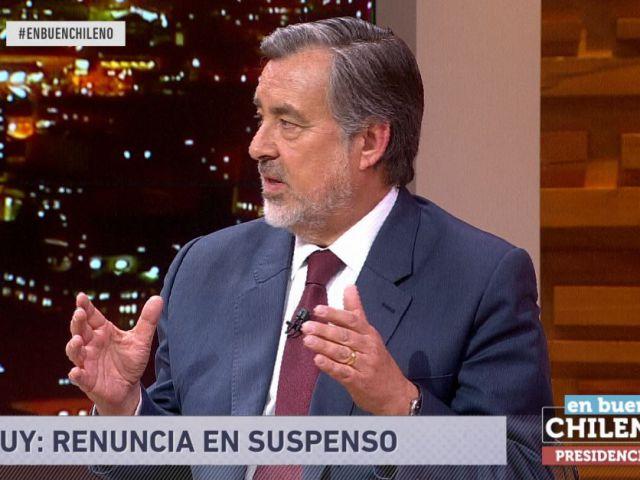 [VIDEO] Las definiciones de Alejandro Guillier acerca del conflicto en La Araucanía