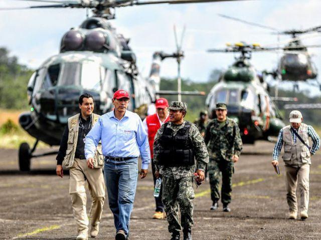 Perú detiene a más de 50 en un operativo antidrogas en la frontera con Colombia