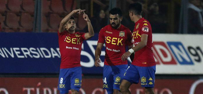 Unión Española golea para ser el primer clasificado a octavos de final de Copa Chile