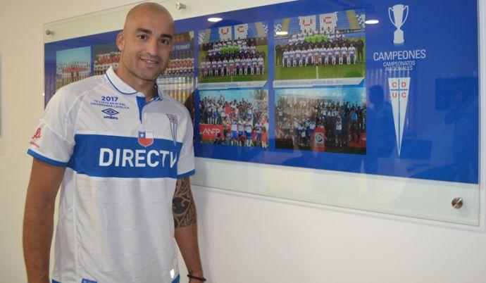 [VIDEO] Santiago Silva se pone metas en la UC: La idea es dar la mayor cantidad de goles