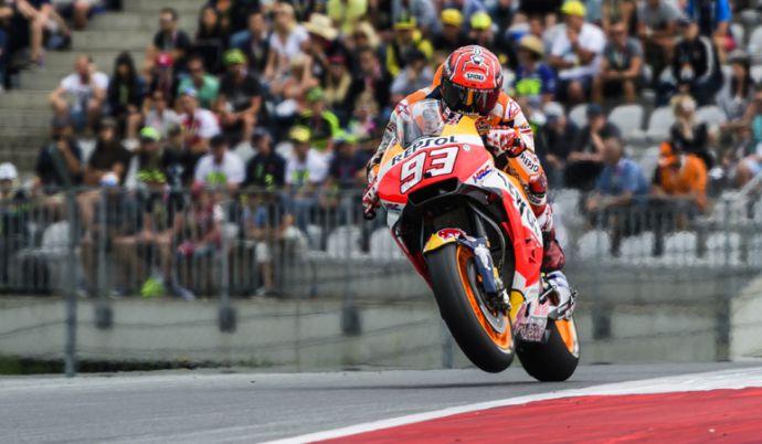 MotoGP: Márquez logra la pole y va por su tercer triunfo consecutivo en Austria