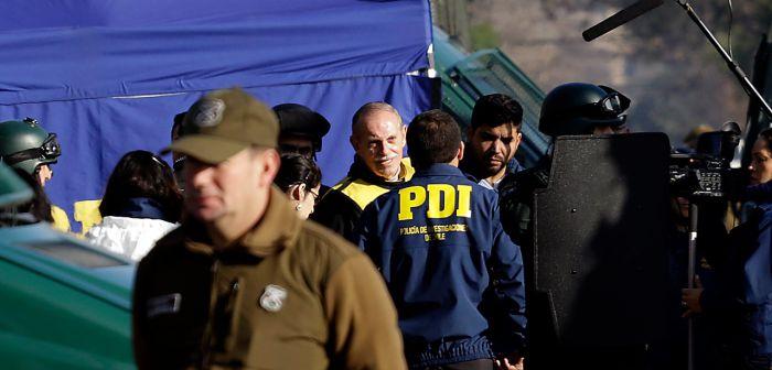 Krassnoff participa en reconstitución de escena del asesinato de Miguel Enríquez