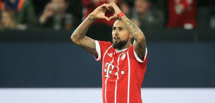Sitio de la Bundesliga destaca a Arturo Vidal como el mediocampista más completo del mundo
