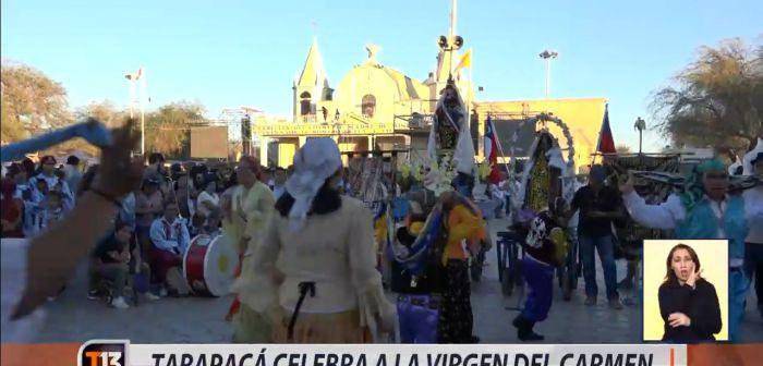 [VIDEO] Tarapacá celebra a la Virgen del Carmen