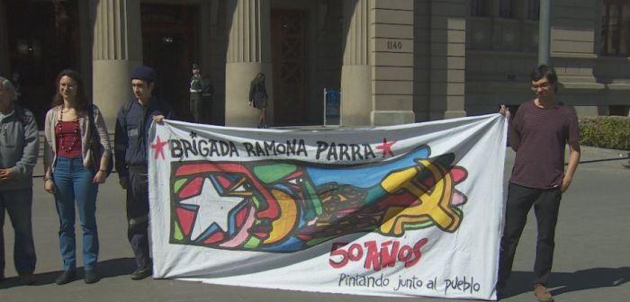 [VIDEO] Brigada Ramona Parra pone recurso de protección contra Camila Flores