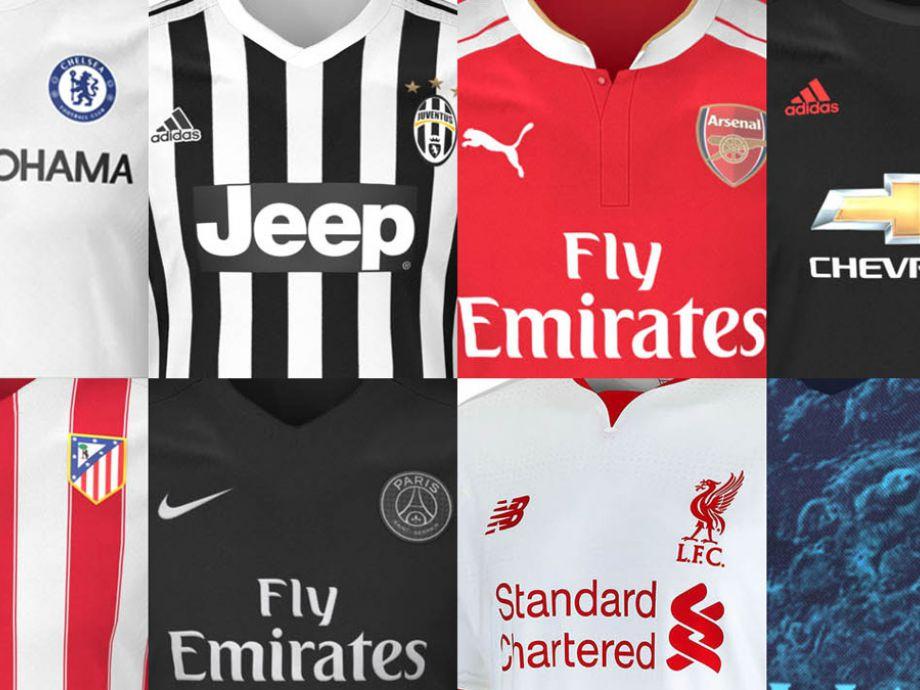 FOTOS  Mira las nuevas camisetas de los grandes clubes europeos para la  temporada 15-16  f3919d662db57