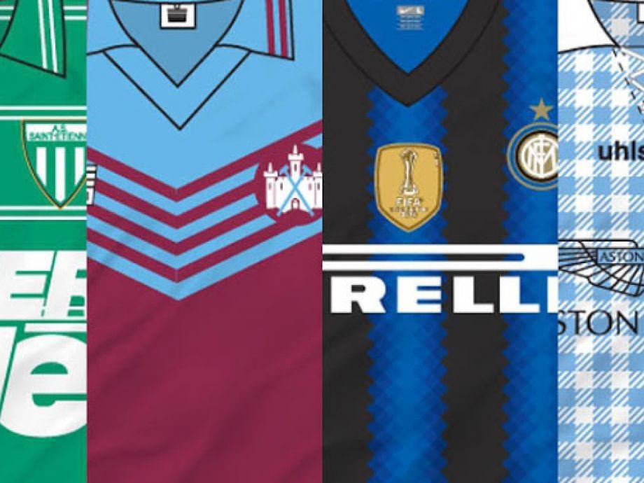 FOTOS  Estas son las 50 camisetas más lindas del fútbol  2dbe754681c95
