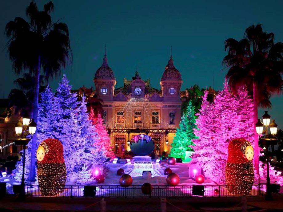 Monte Carlo, Mónaco navidad