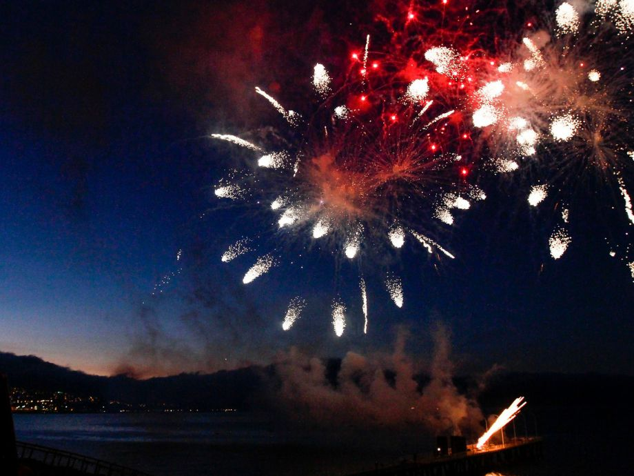 Fotos Ensayo Fuegos Artificiales En Region De Valparaiso Tele 13